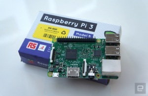 Introducing the Raspberry Pi 3: the Foundation's first 64-bit computing board that also comes with Wi-Fi and Bluetooth built in for the same $35/£26 price.